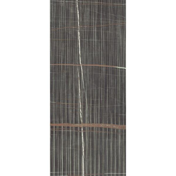 Marmerlook Tegel Slabs 278x120 - ECL Pinstripe Dark Satijn