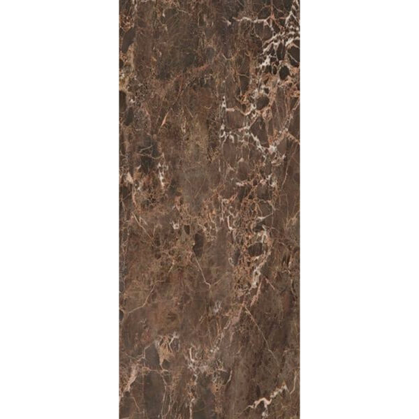 Marmerlook Tegel Slabs 278x120 - ELLU Emperador Bruin Hoogglans
