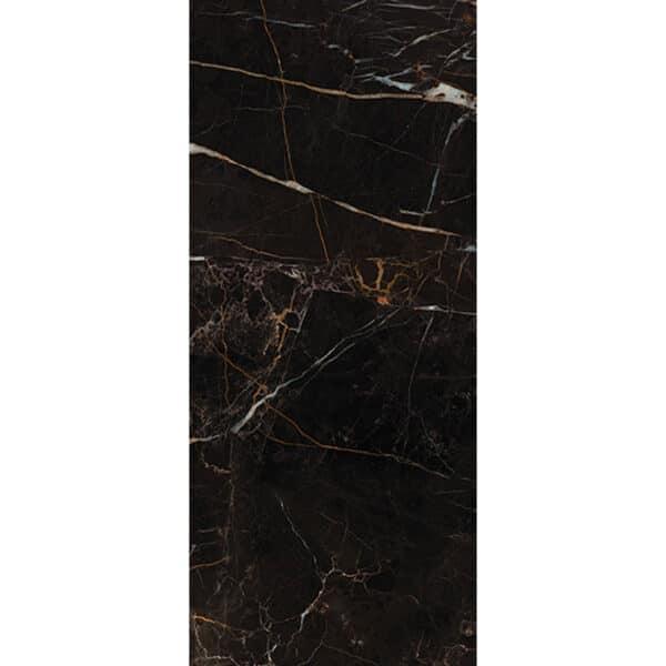 Marmerlook Tegel Slabs 278x120 - ELLU Port Laurent Zwart Hoogglans