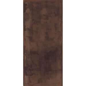 Metallook Tegel Slabs 260x120 - TU-T Metal Rood Bruin Mat