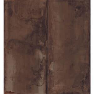 Metallook Tegel Slabs 260x120 - TU-T Metal Rood Bruin Variatie