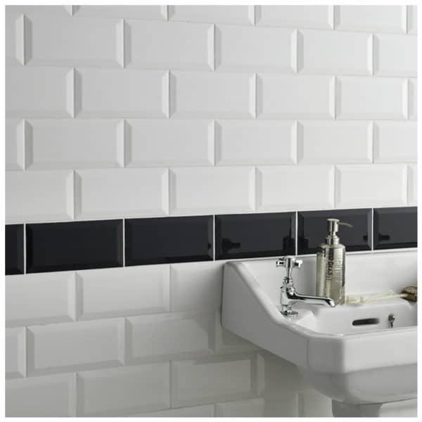 Metro tegels badkamer