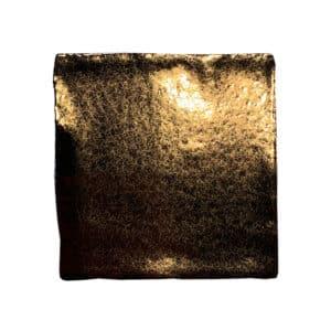 Handvorm Tegel 10x10 Goud Metallic Glans op Voorraad Leverbaar