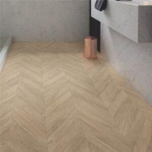 Laminaat - Quick-Step Impressive Patterns IPA4164 Eik Visgraat Taupe