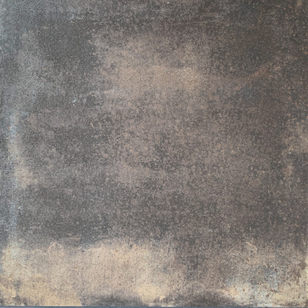 Metallook Tegels - Oxid Copper Roest Bruin 90x90