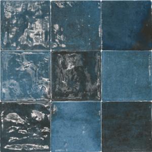 Handvorm Tegels 10x10 - Class Zellige Azul Oscuro