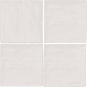Handvorm Tegels 10x10 - Season Winter Wit