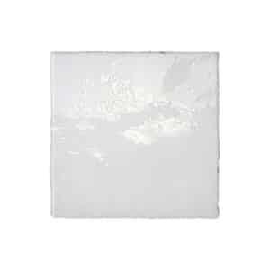 Handvorm Tegels 13x13 - Zel Cabablanca White