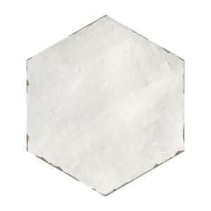 Hexagon Handvorm Tegels 14x16 - Capri Rassa Grey Lichtgrijs