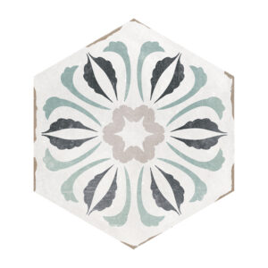 Hexagon Portugese Tegels 14x16 - Capri Handvorm Bosa