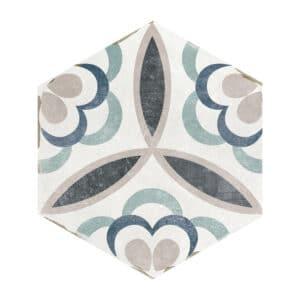 Hexagon Portugese Tegels 14x16 - Capri Handvorm Sassani