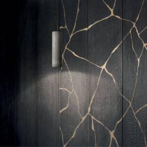 Houtlook Tegels | Keramisch Parket 150x25 - Kasai Notte Antraciet Zwart Detail