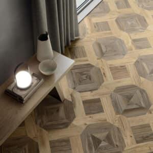 Houtlook Tegels | Keramisch Parket 60x60 - Nordik Wood Mansion Bruin Sfeer