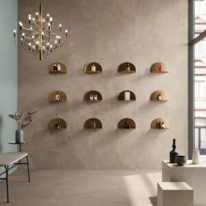 Leisteenlook Tegels 120x60 - Brystone Gold Beige Sfeer