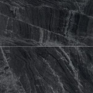 Marmerlook Tegels 120x60 - Gemme Black Mirror Hoogglans Antraciet
