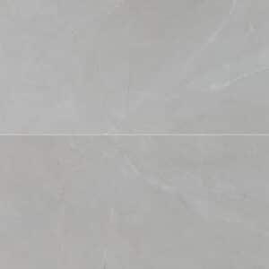 Marmerlook Tegels 120x60 - Gemme Breccia Cenere Hoogglans Lichtgrijs