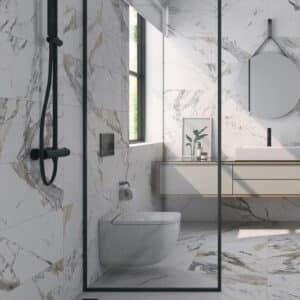 Marmerlook Tegels 120x60 - Tinenza Wit Sfeer