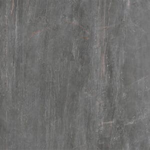 Marmerlook Tegels 60x60 - Fossil Piombo Hoogglans Donkergrijs