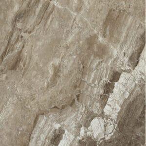 Marmerlook Tegels 60x60 - Magi Cappuccino Hoogglans Bruin