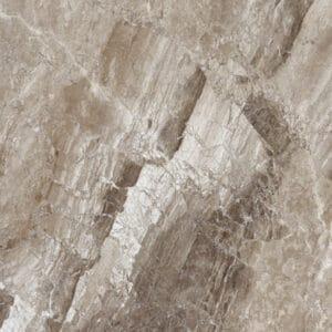 Marmerlook Tegels 60x60 - Magi Cappuccino Hoogglans Bruin Variatie
