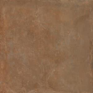 Metallook Tegels 120x120 - S50 Terracotta Roodbruin