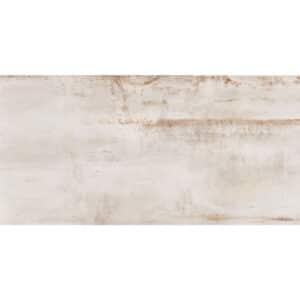 Metallook Tegels 120x60 - Rebel White Gebroken Wit Mat