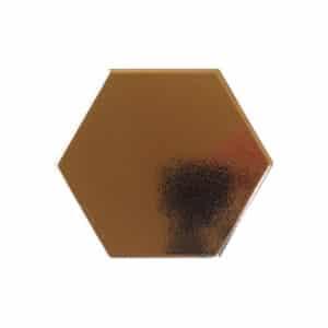Hexagon Handvorm Tegels 15x17 - Retiro Metallic Goud