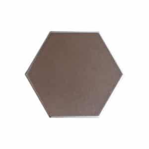 Hexagon Handvorm Tegels 15x17 - Retiro Metallic Koper