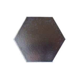 Hexagon Handvorm Tegels 15x17 - Retiro Metallic Zilver